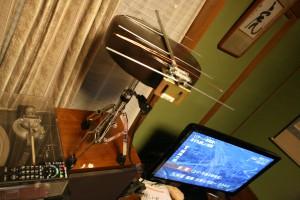 地上波デジタル放送用 自作アンテナ